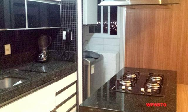 Allegro condomínio, 2 quartos, gabinete, projetado, alto luxo, andar alto, lazer completo - Foto 5