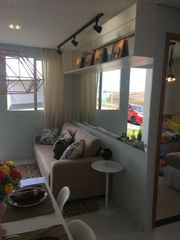 Casa de 2/4 na laje em Condomínio - Região Jardim Cruzeiro e Feira IX - Ent Facilitada - Foto 6