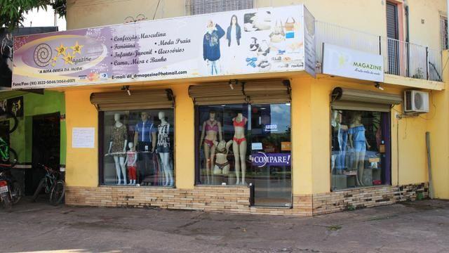 Vendo estrutura de loja