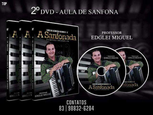 DVD aula para Sanfona