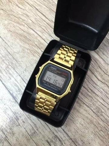 de9ee480f09 Relógio Casio Vintage Retro Unissex Vários Modelos - Bijouterias ...