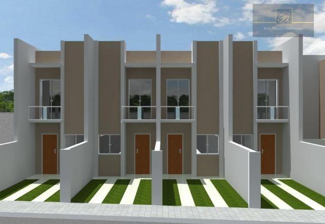 Sobrado residencial à venda, Iririú, Joinville.