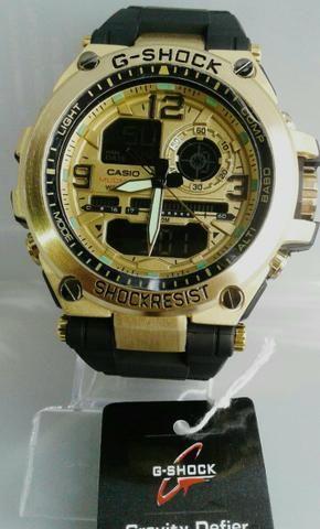 1b62c9f6e31 Relógio CASIO G-SHOCK PRIMEIRA LINHA DE AÇO