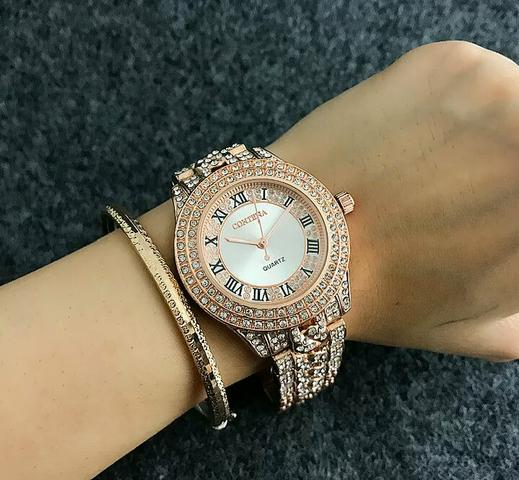 6a446f5ce3b Relógio de luxo feminino original - Bijouterias