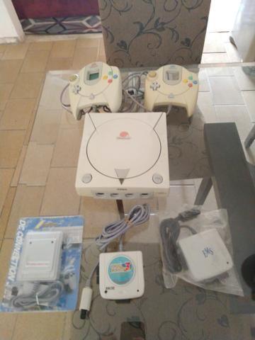 Dreamcast com gdemu oficial e adaptadores! - Foto 2