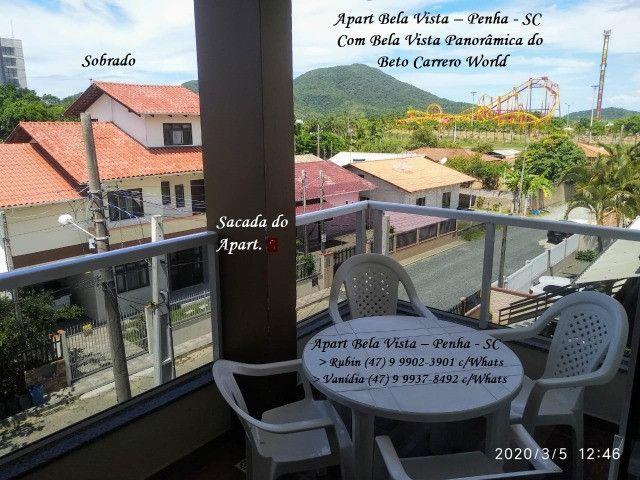 Apartamento 4 - com Vista do Beto Carrero World Penha SC - Foto 3