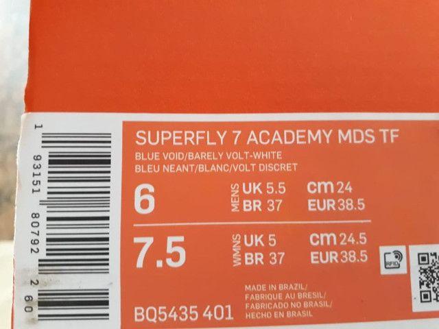 Chuteira Nike Original - veio USA Tam 37 - Foto 4