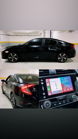 Honda Civic 2.0 EXL Flex 2018/2018 Unico Dono