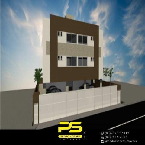 Apartamento com 2 dormitórios à venda, 48 m² por R$ 173.000,00 - Castelo Branco - João Pes