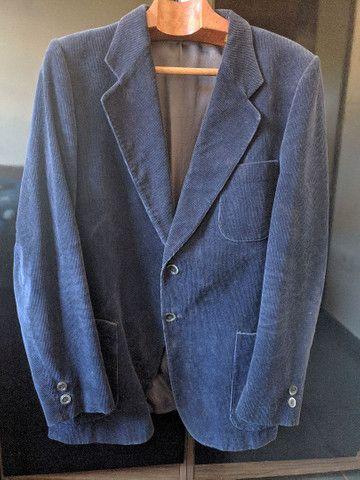 Blazer masculino azul tamanho M