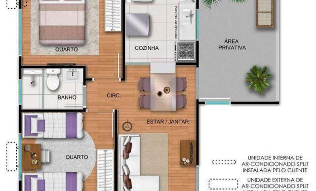Residencial Porto Frankfurt - Apartamento 2 quartos em São Leopoldo, RS - ID3978 - Foto 7