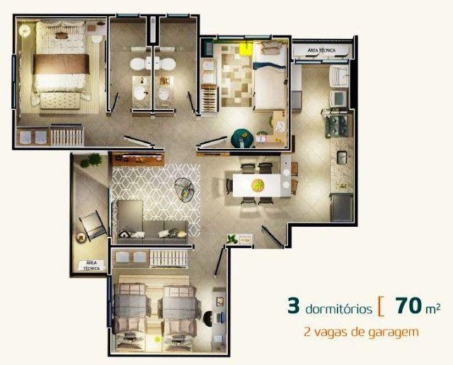 Venda - Lançamento do Residencial Vilaggio Giarginni - Foto 8