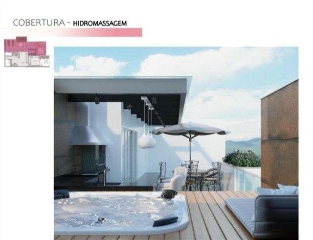 Cobertura Duplex 3 quartos -Primeira locação-Corrêas-Petrópolis - Foto 8