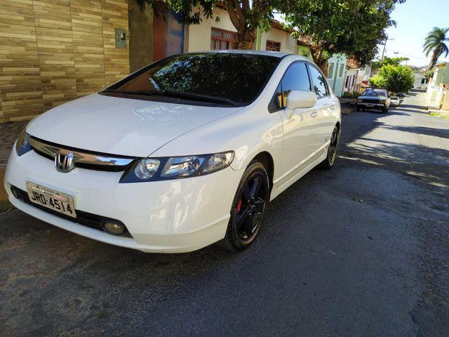Honda Civic 2008 Branco - Foto 2