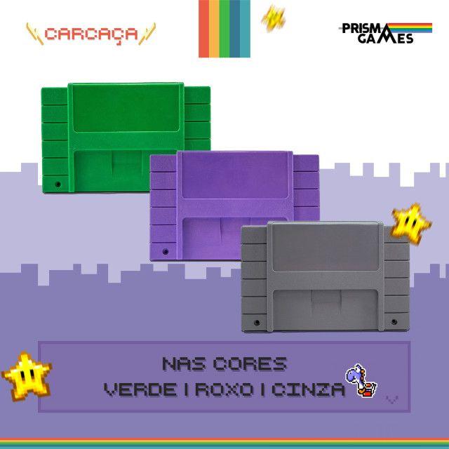 Carcaça Jogos - Super Nintendo (SNES) - Foto 3