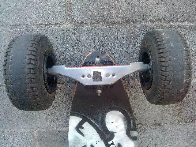 Skate carveboard; carve board; longboard; long board  - Foto 5