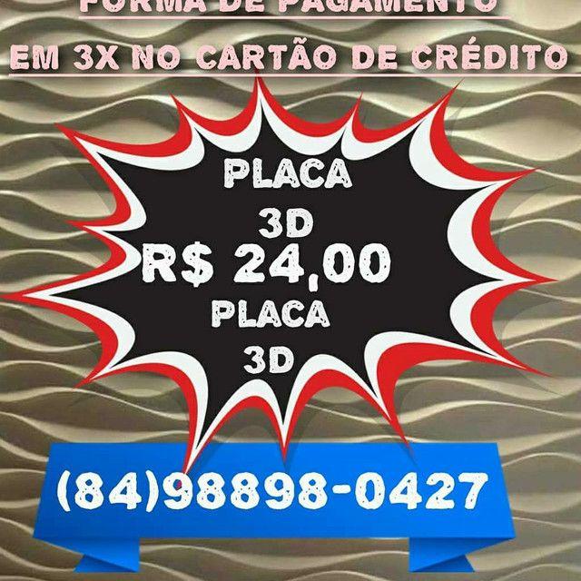 Venda Placas 3D  Por M² Vários Tamanho a Partir 22,00