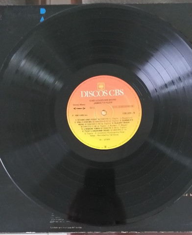 LP Vinil James Taylor 1981 - Foto 4