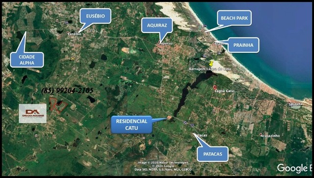 =§ Loteamento aberto, localizado às margens da Lagoa do Catu! - Foto 13