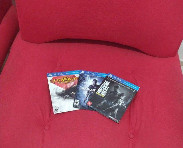 Kit 3 jogos de PS4