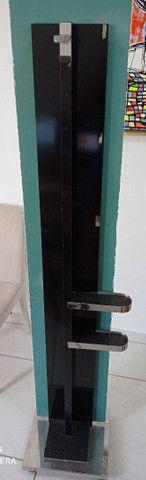 Espelho com suporte em Inox e rodinhas - Foto 2