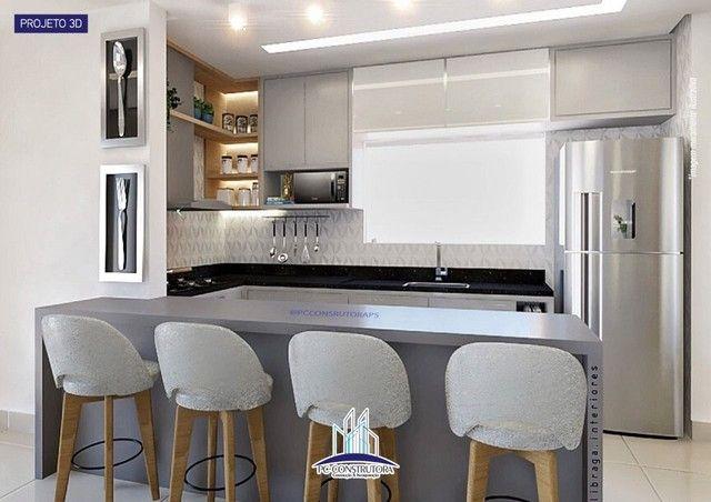 Apartamento com 3 dormitórios à venda, 115 m² por R$ 535.000 - Praia do Mutá - Porto Segur - Foto 2