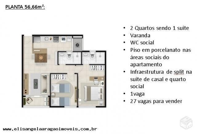 Oportunidade no Benfica, Próximo ao Shopping! Apartamento com 2 Quartos - Foto 10