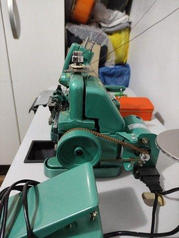 Máquina De Costura Overloque Semi Industrial Flawil + Mesa p/ Costura (GN1-6D) - Foto 6