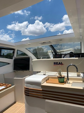 Real 40 HT Luxury Modelo 2021 - Real Powerboats - Gasolina / Diesel  - Foto 13