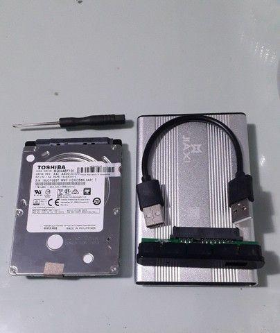 hd para Notebook ou Externo Toshiba 1 tb. - Foto 3