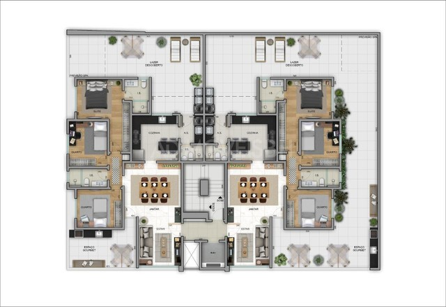 Apto Área Privativa à venda, 3 quartos, 1 suíte, 3 vagas, Padre Eustáquio - Belo Horizonte - Foto 2