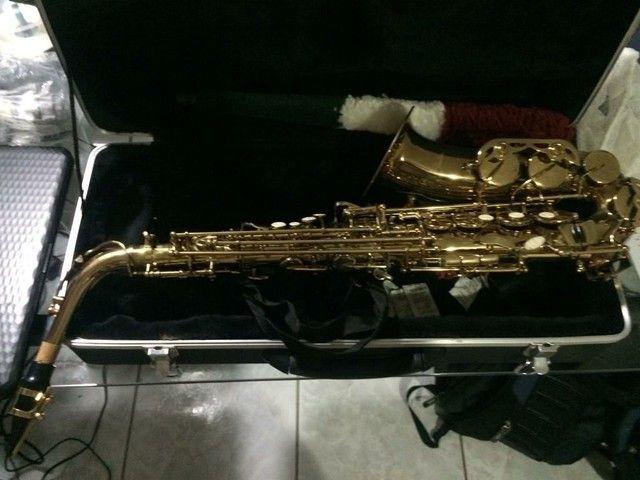 Saxofone Alto Shelter novo - Foto 4