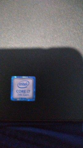 Notebook Dell Inspiron 15 core i7 7 th gen 3567 com carregador - Foto 3