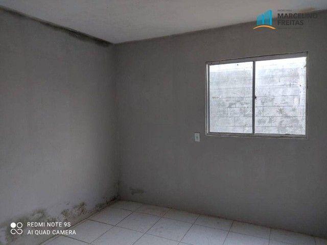 Casa com 2 dormitórios para alugar, 196 m² por R$ 609,00/mês - Urucunema - Eusébio/CE - Foto 4
