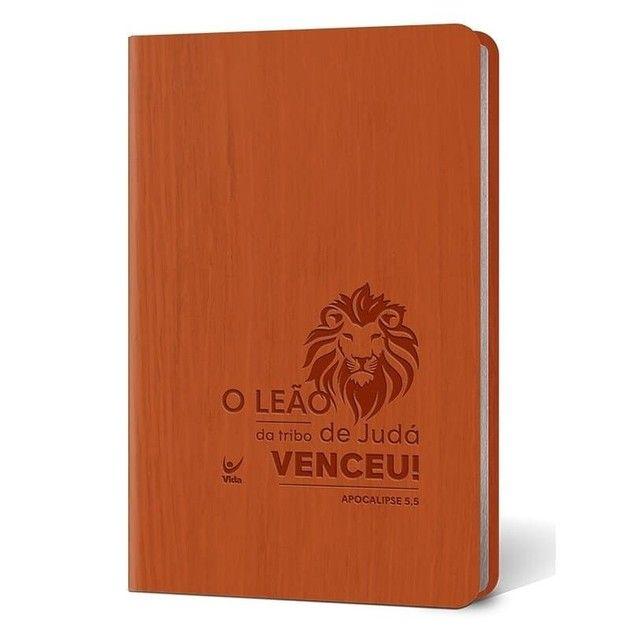 Bíblia Sagrada   Modelo Slim   Capa Semi-luxo - Foto 4