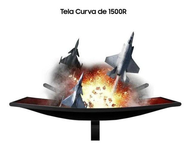 Monitor Gamer Curvo Samsung 27 Led Full Hd 240 Hz G-sync - Loja Natan Abreu - Foto 5