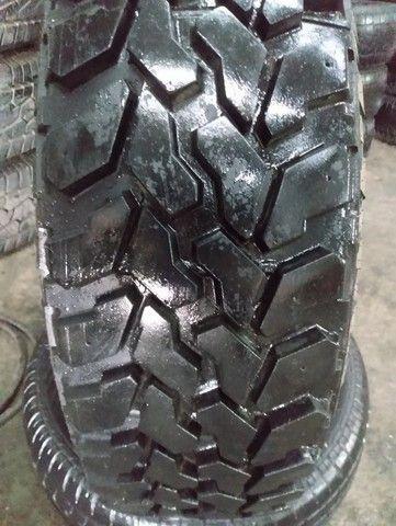 Jogo de rodas + pneus Firestone 235/75R15 para Rural. - Foto 3