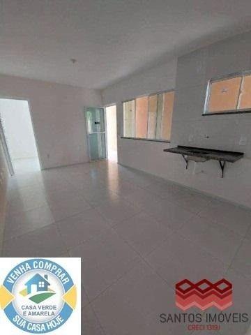 WG Casa Popular entrada a partir de 2.000*, 2 quartos, 1 banheiro social, Garagem. - Foto 5