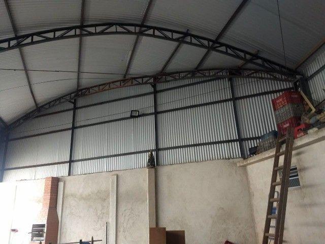 Vendo barracão de estrutura metálica - Foto 3