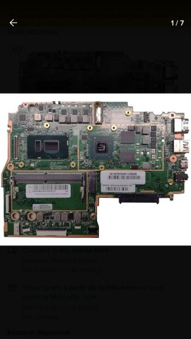 Placa Mãe Lenovo Ideapad 330s Core I5 Vídeo Dedicado Nova - Foto 3