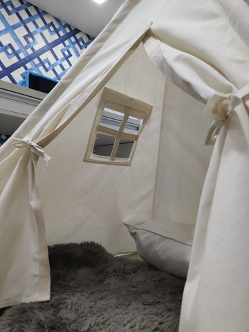 Cabaninha, tenda, barraca infantil *produto novo, somos fabricante - Foto 6