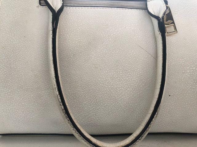 Bolsa branca triton original usada  - Foto 4