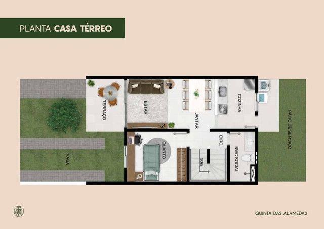 Casas em condominio 85m², localizadas no Luiz Gonzaga - Foto 7