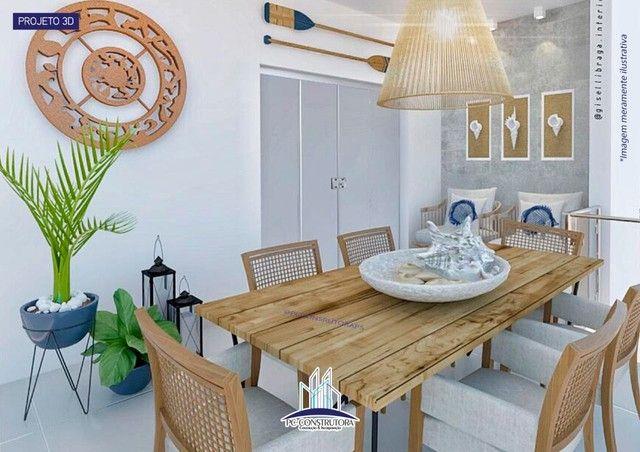Apartamento com 3 dormitórios à venda, 115 m² por R$ 535.000 - Praia do Mutá - Porto Segur - Foto 4