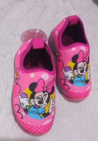 Tênis baby infantil de led Mickey e Minnie  - Foto 3