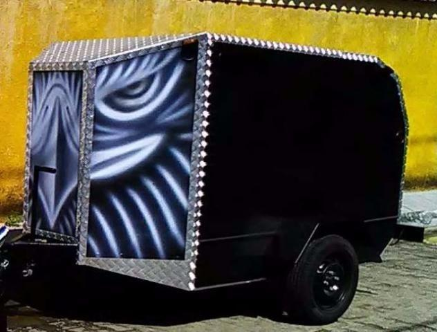 TRAILER CAMPING IDEAL PARA TRICICLO