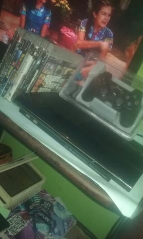 PS3 +7 Jogos COMPLETO