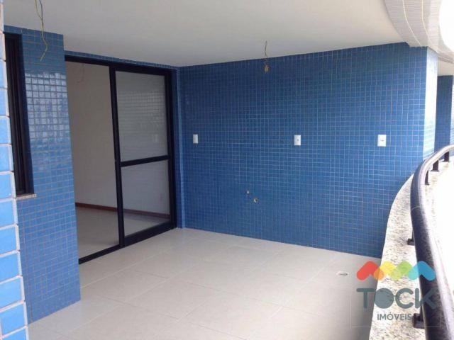 Apartamento 3 quartos, varandão