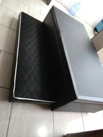 Box baú auxiliar solteiro 88x188 Preço de fabrica só 549,00!! - Foto 3