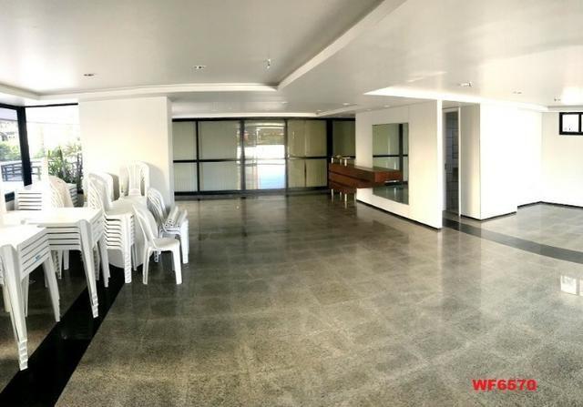 Palazzo Florentino, 3 suítes, gabinete, 3 vagas, projetado, quadra, próximo parque do Cocó - Foto 10